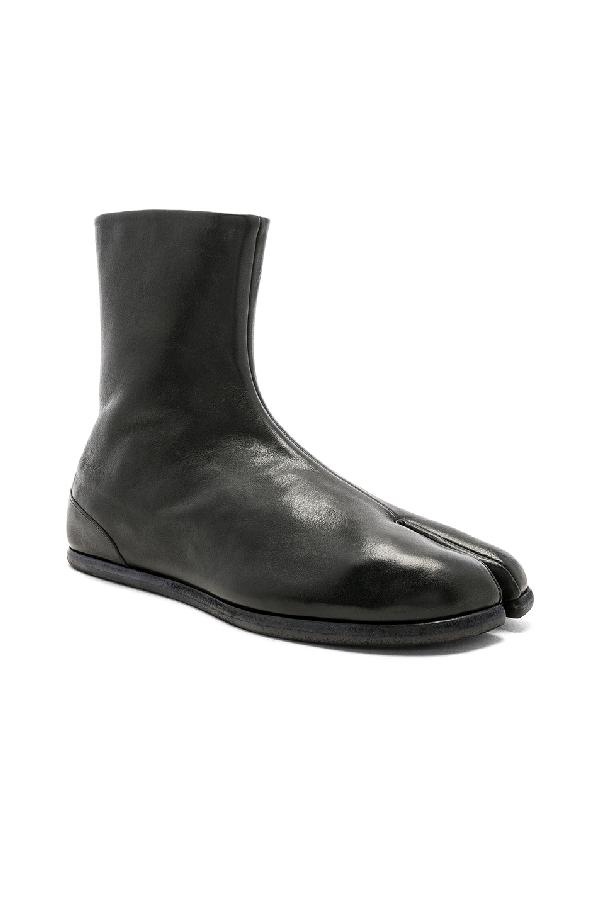 719a1e86662 Maison Martin Margiel Tabi Boots in Black