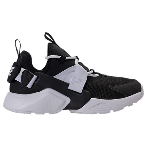 71e501e00 Nike Women s Air Huarache City Low Casual Sneakers From Finish Line In  Black Black-