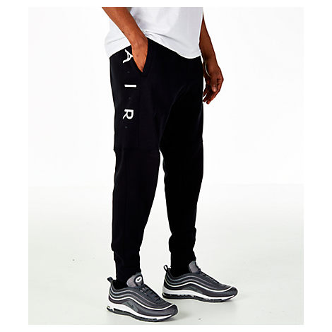 otoño Responder Adaptabilidad  Nike Men's Sportswear Air Fleece Jogger Pants, Black | ModeSens