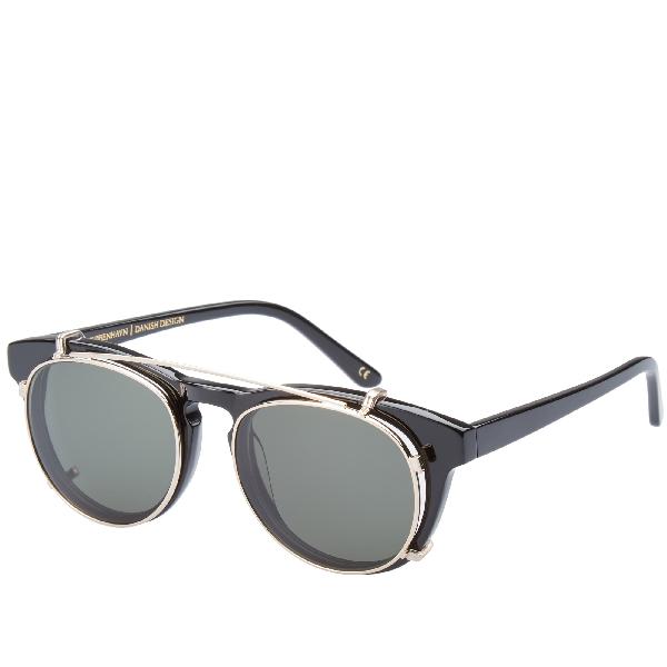 50dda1aecc48 Han Kjobenhavn Han Timeless Clip-On Sunglasses In Black