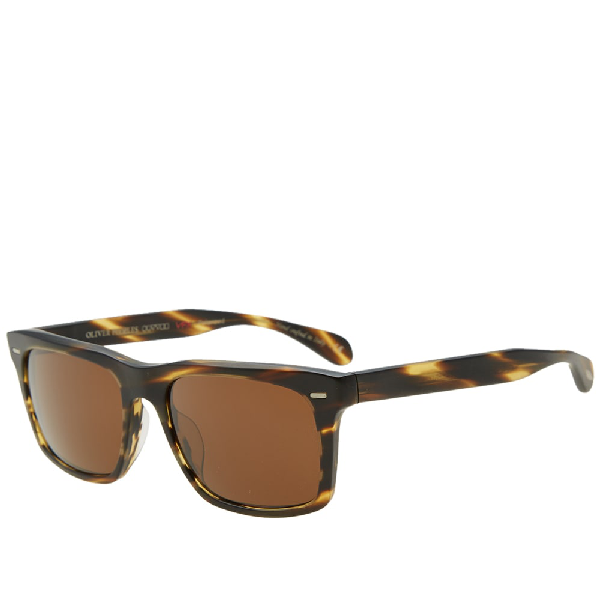 ccd978857b Oliver Peoples Brodsky Vfx+ Polarized Sunglasses