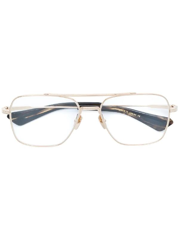 f0e29a9e0b829 Dita Eyewear Flight Seven Glasses - Metallic