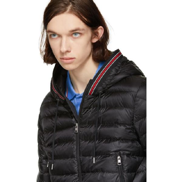 c7a4db06c Eliot Hooded Nylon Down Jacket in Black