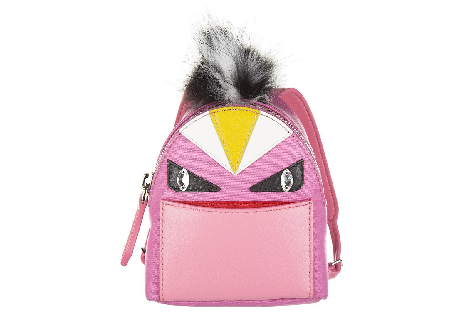 3663bf52b508 Fendi Women s Bag Charm Bag Bugs In Pink