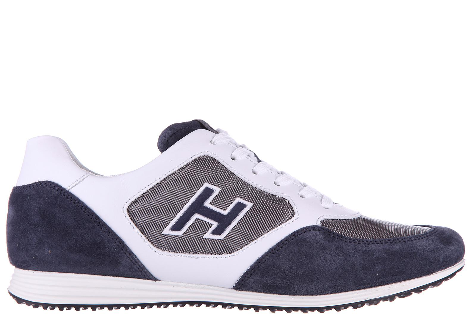 Hogan Men's Shoes Leather Trainers Sneakers H205 Olympia X H Flock ...