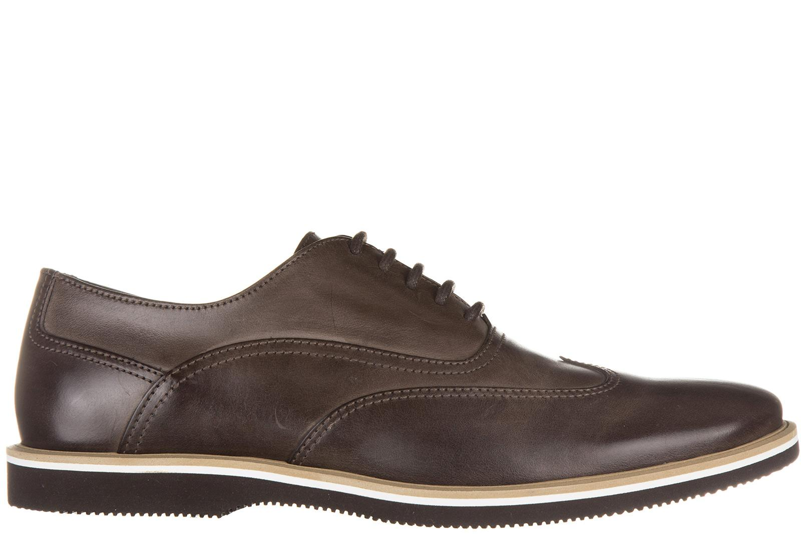 Hogan Men's Classic Leather Lace Up Laced Formal Shoes Oxford H262 ...
