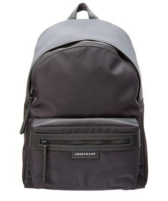 Longchamp Le Pliage Neo Medium Nylon Backpack In Grey