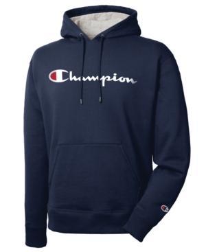 navy champion hoodie