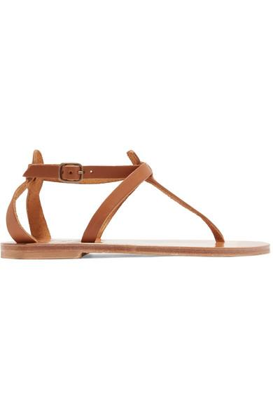 467046dce70a K.Jacques Cedre Leather Sandals In Tan