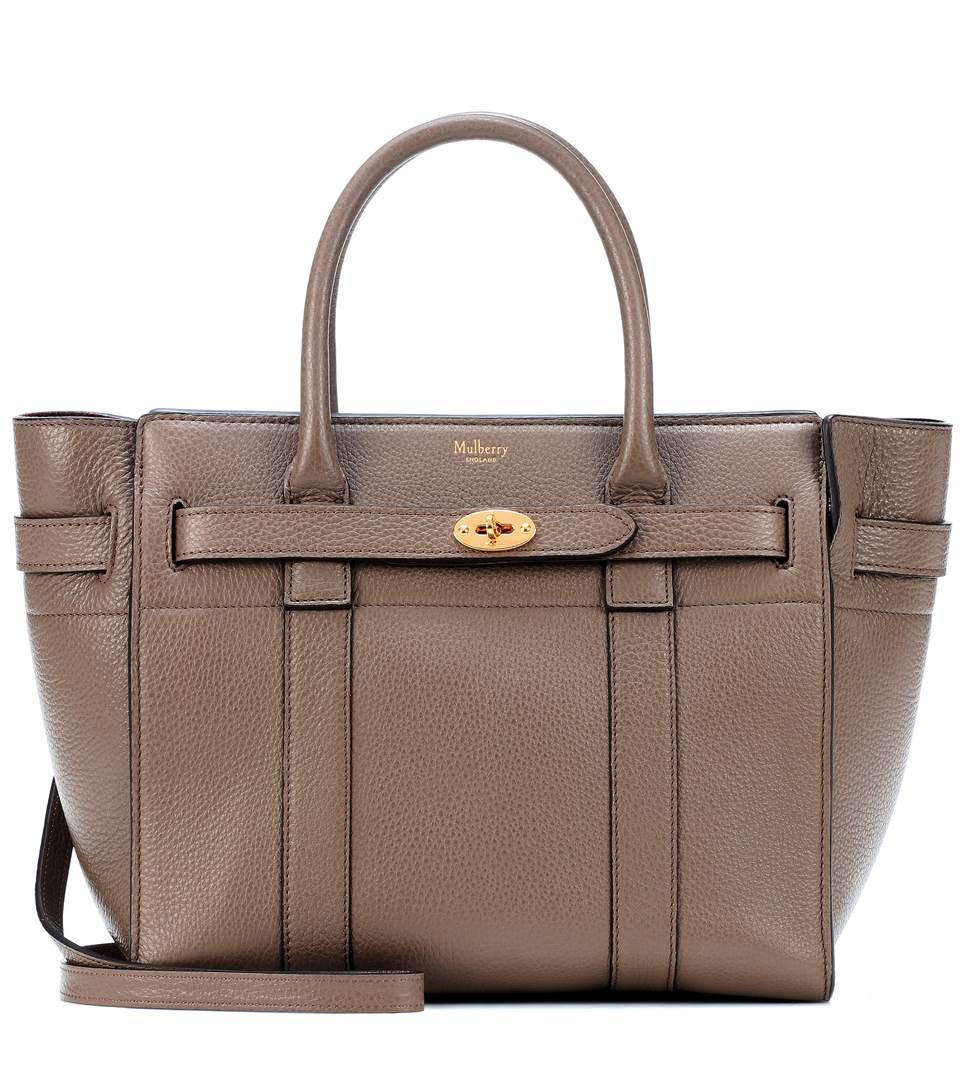 619f2354a20 Mulberry Small Bayswater Leather Tote In Brown