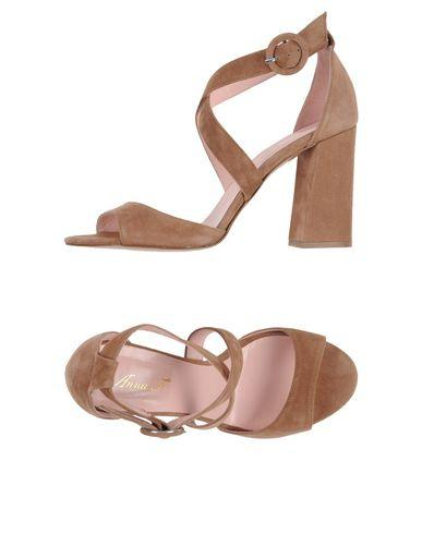 317333e469ea Anna F. Sandals In Camel