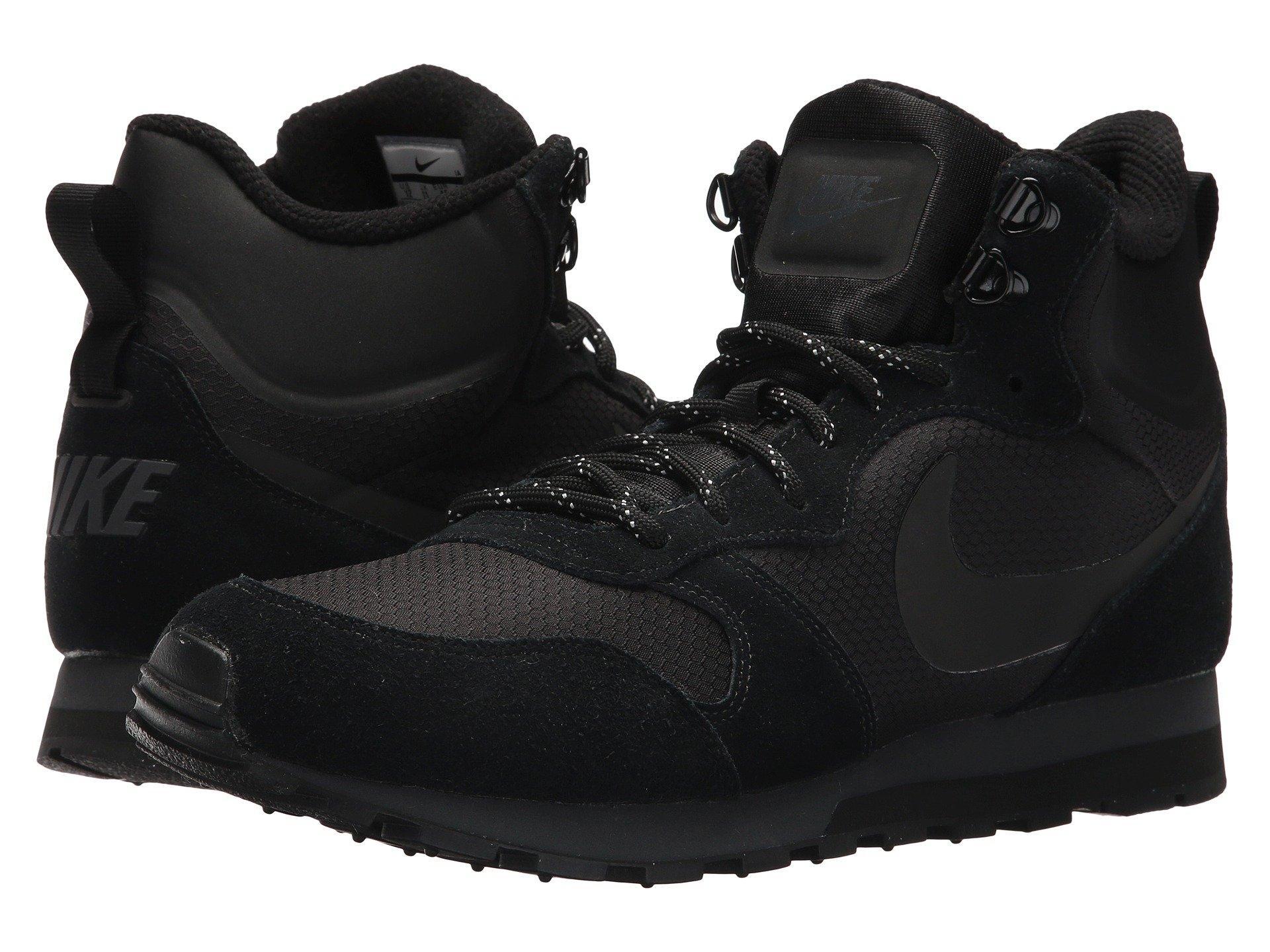 Tiranía Estricto Medición  Nike Md Runner 2 Mid Premium, Black/black/anthracite | ModeSens