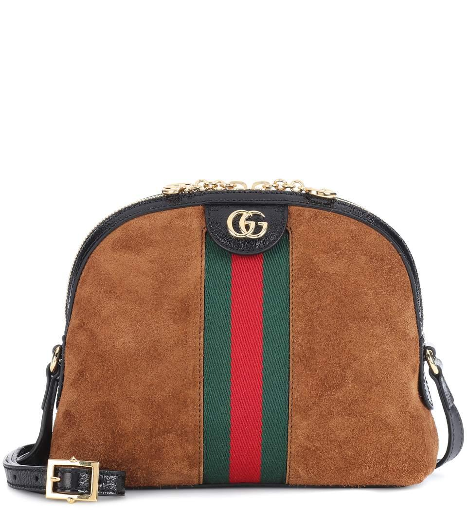 35f5365fdf6c8f Gucci Ophidia Small Shoulder Bag In Brown In 2863 Brown | ModeSens