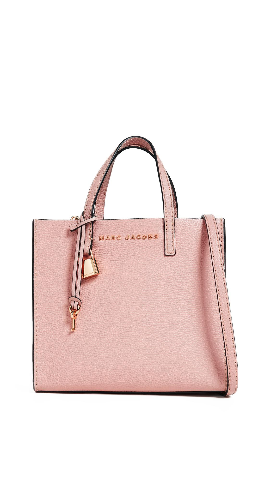 Mini Grind Tote Bag In Rose