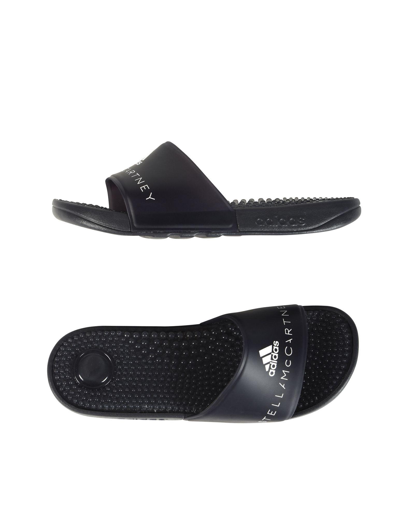 dec08465a Adidas By Stella Mccartney Adissage Slide Sandal With Massaging Footbed In  Grey