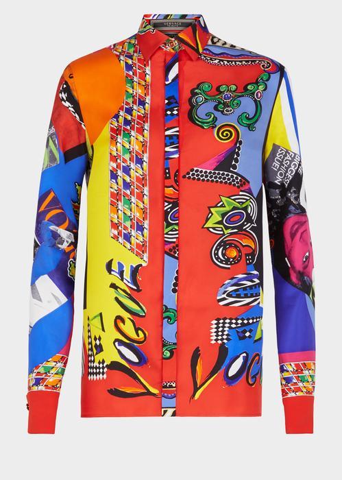 51ea0bc884 Versace Vogue Ss  91 Print Tribute Shirt