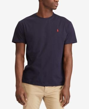 a85172f11c716 Polo Ralph Lauren Classic Fit Crewneck Tee In Ink | ModeSens