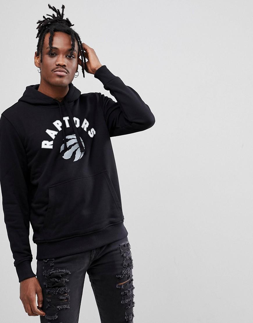 New Era Fleece Hoody NBA Toronto Raptors schwarz