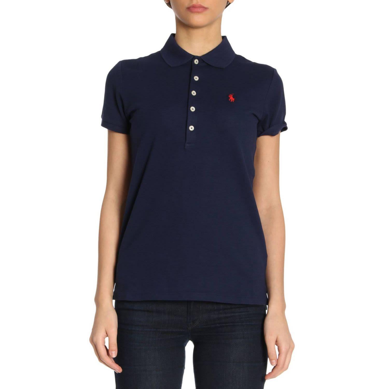 T-shirt T-shirt Women Polo Ralph Lauren In Navy