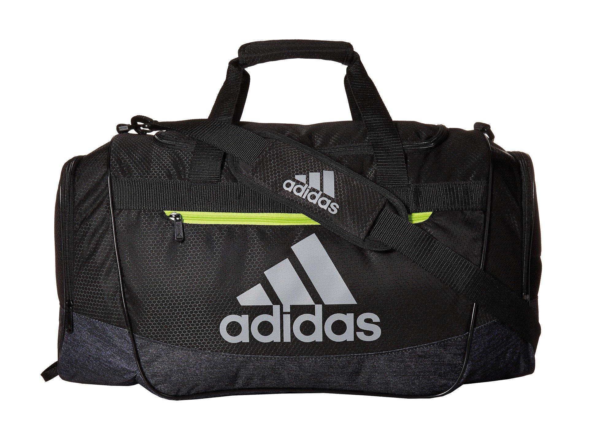 Adidas Originals Defender Iii Medium Duffel, Black/black Jersey ...
