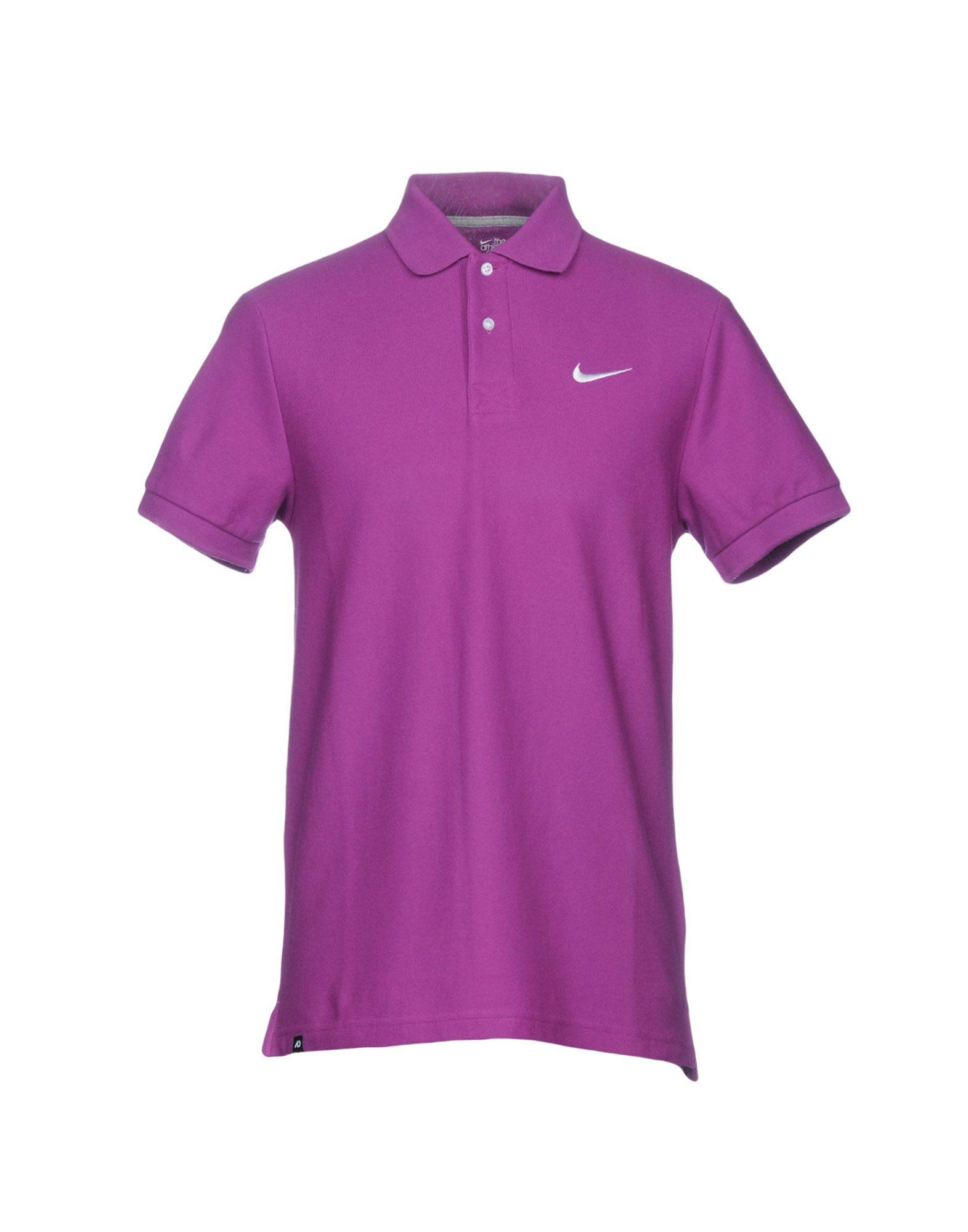 357c597a Nike Polo Shirt In Purple | ModeSens