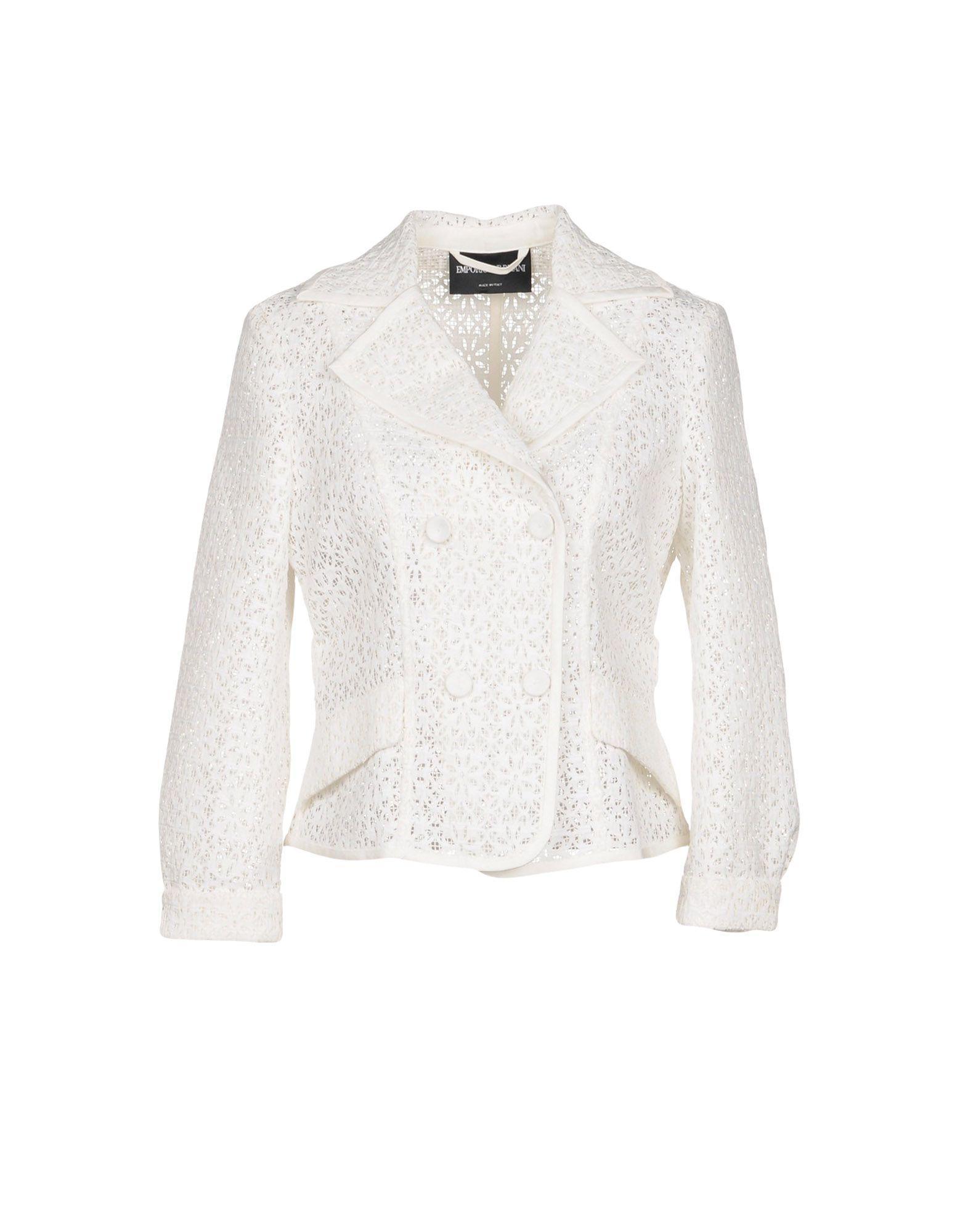8f63039ba0fc6 Emporio Armani Blazer In White   ModeSens