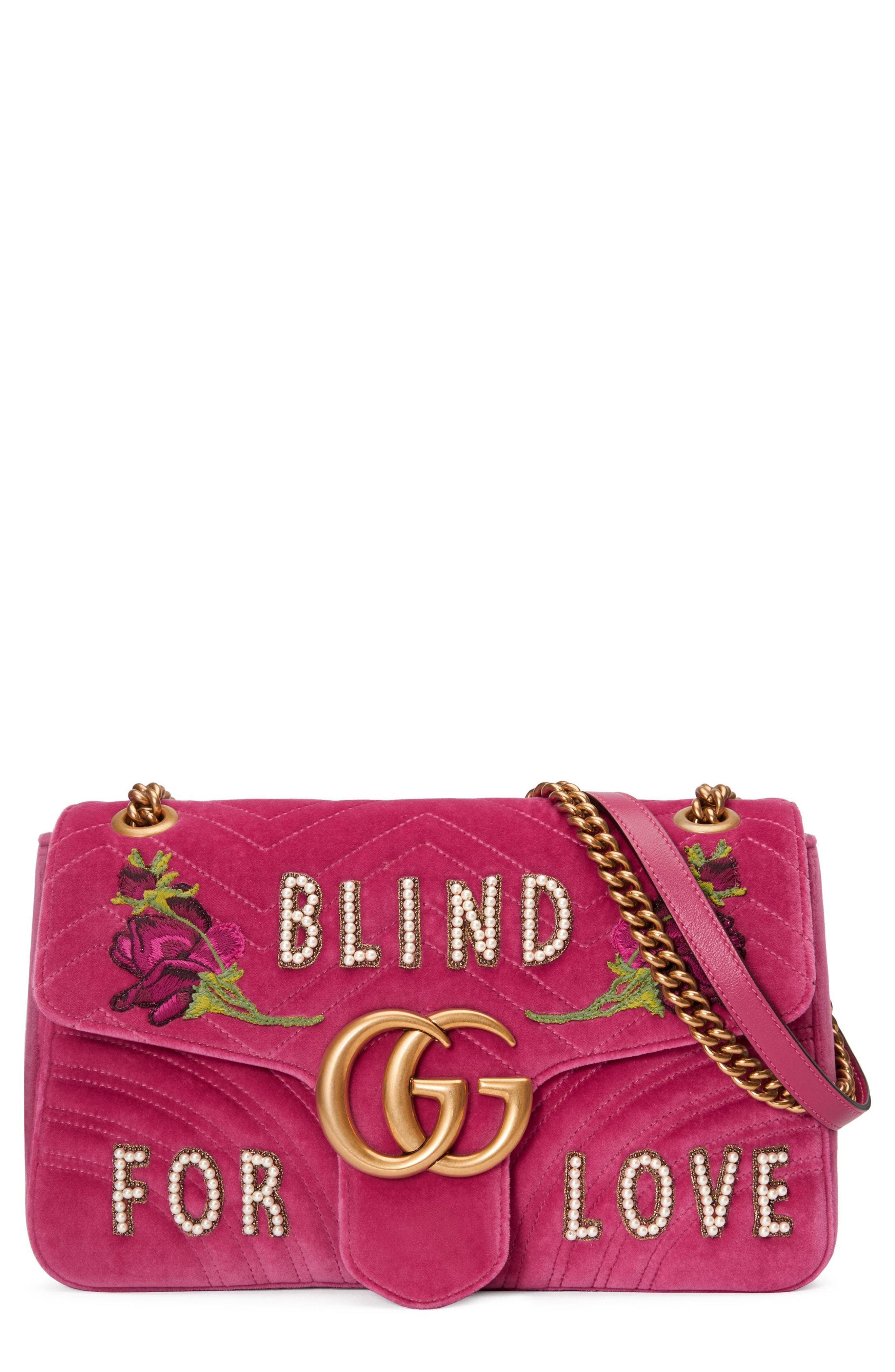 dcc1d326ffc GUCCI. Gg Marmont Medium Embellished Quilted Velvet And Leather Shoulder Bag  ...