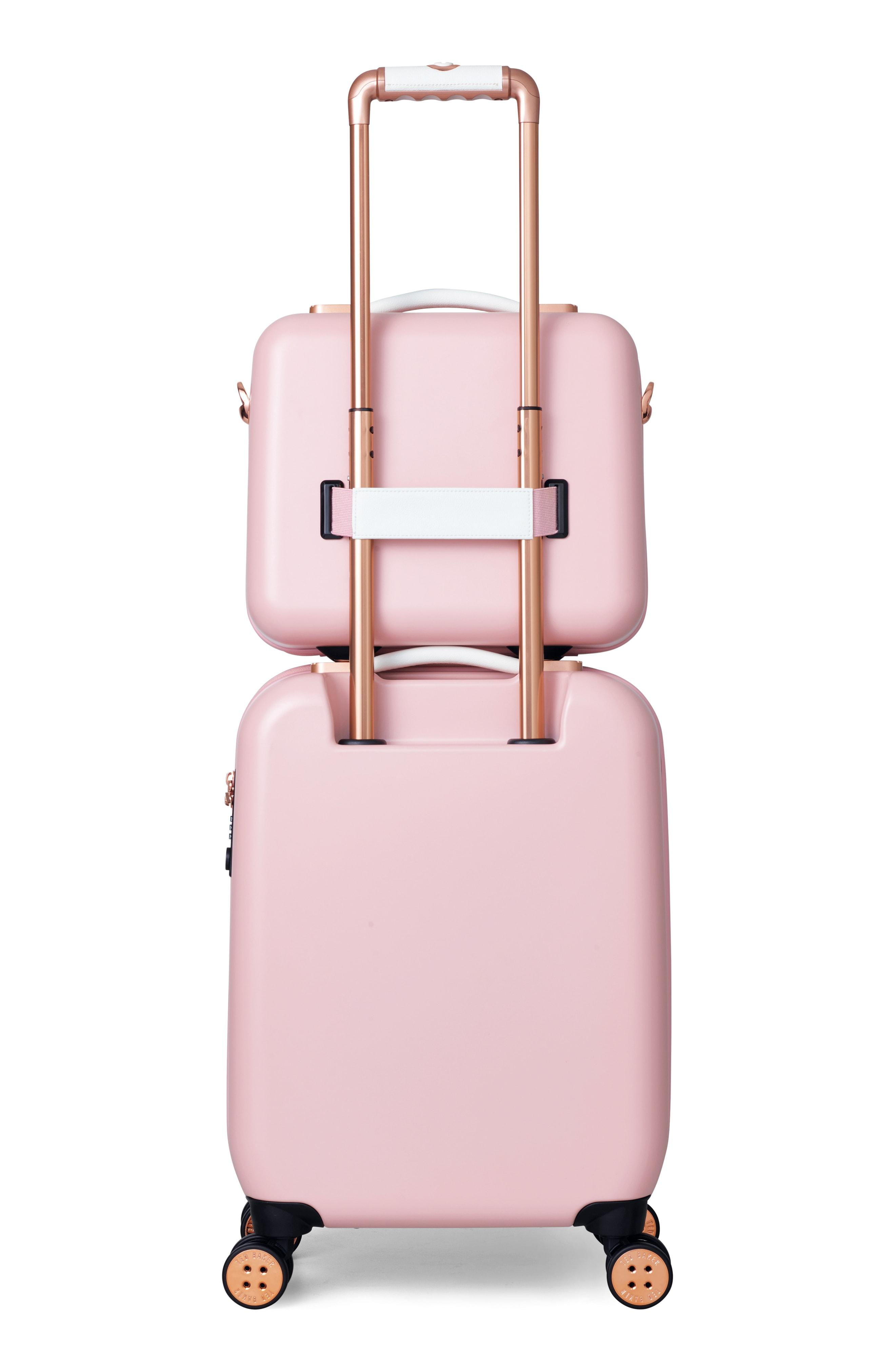 e4c7dfef8430d8 Ted Baker Evlina Bow Detail Vanity Case In Pink