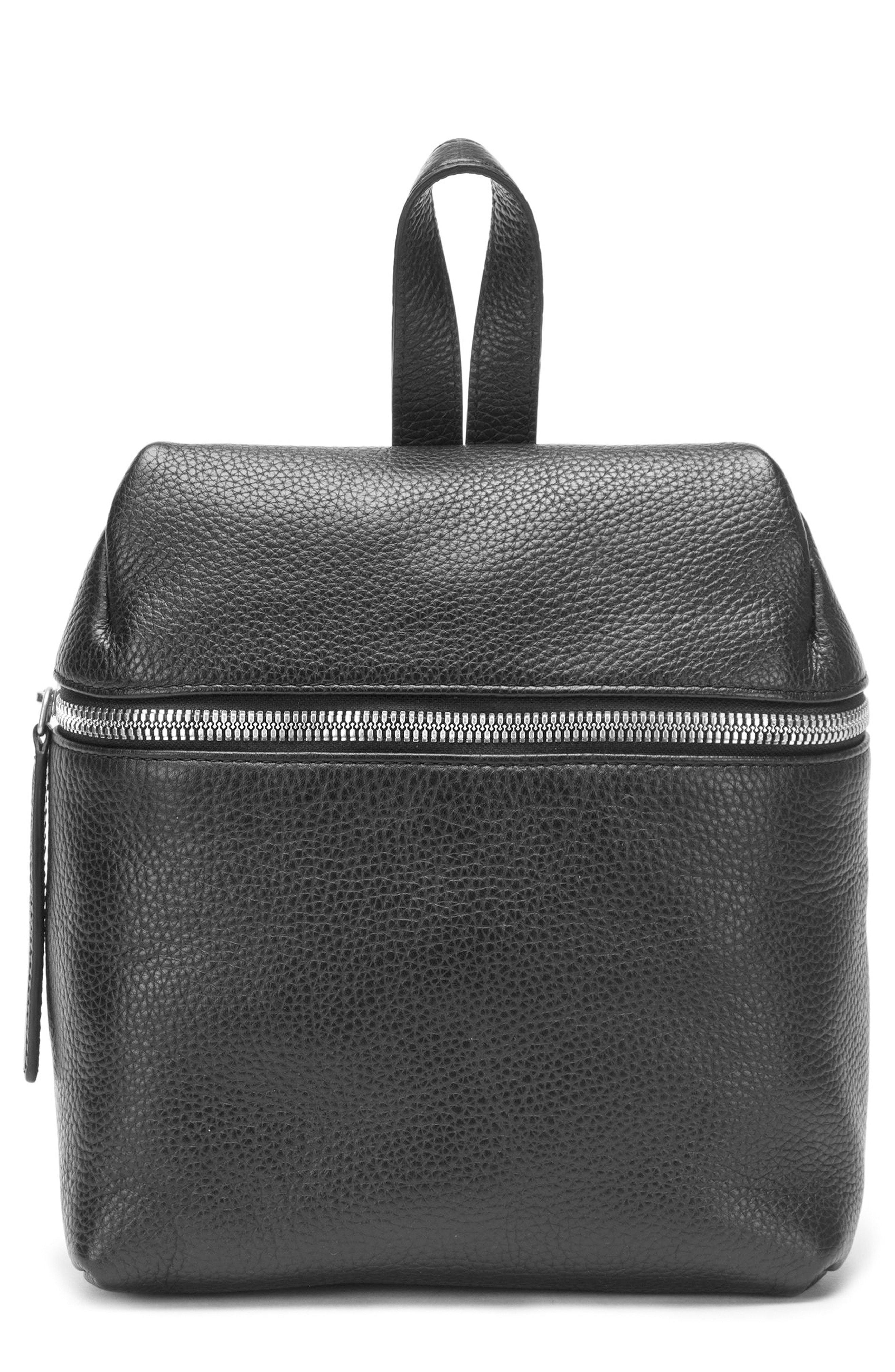 a0e5768170af Kara Small Pebbled Leather Backpack - Black | ModeSens