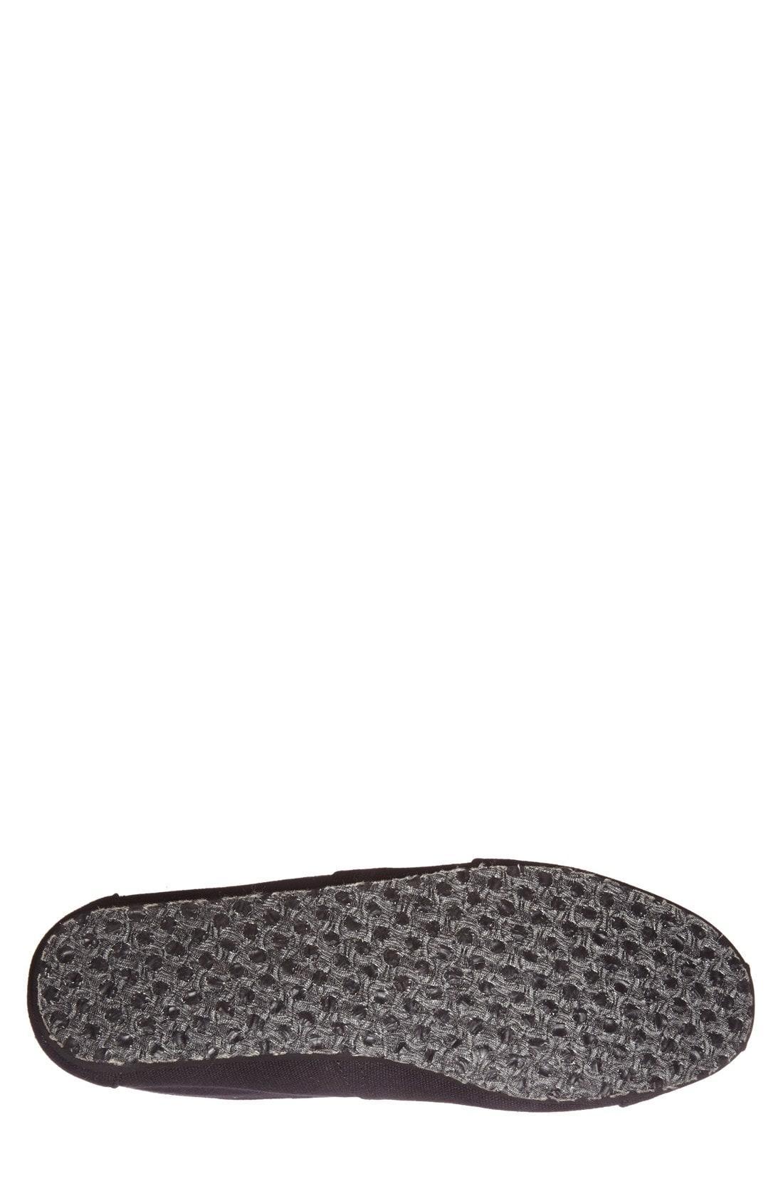 Toms Men's Alpargata Slip-Ons Men's Shoes In Black