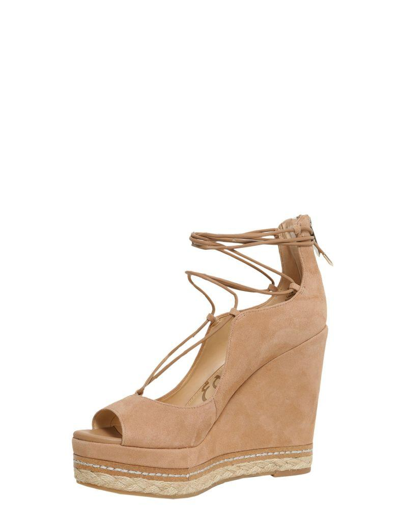 0d88d91a7cc Woman Harriet Suede Espadrille Wedge Sandals Tan in Golden Caramel