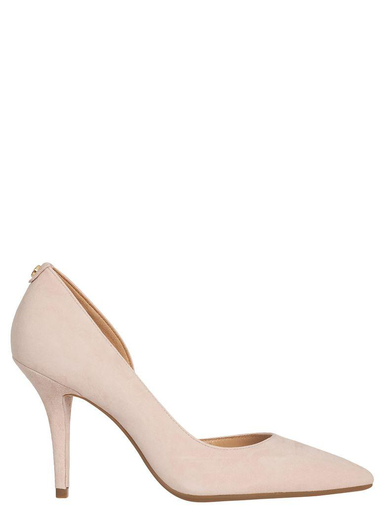 3f4ceac0e65d Michael Kors Suede High Heels In Soft Pink