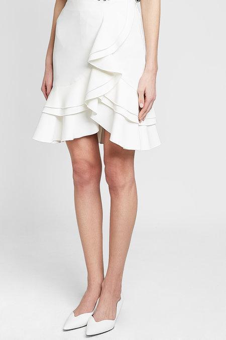 29615981c931 Proenza Schouler Ruffled Tulip-Hem Mini Skirt In White | ModeSens