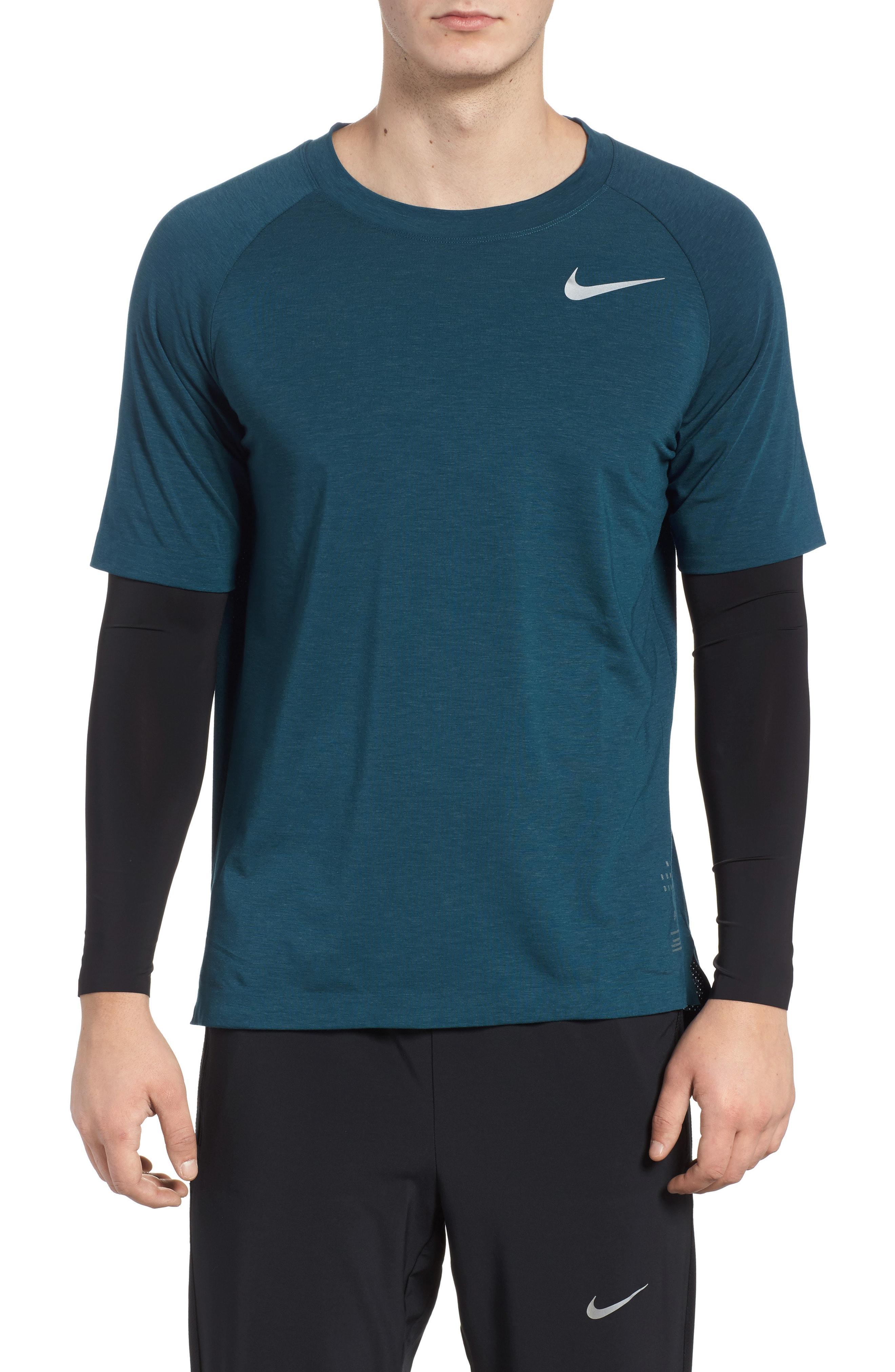 Escalera De Dios ganso  Nike Run Division Dry Layered Long Sleeve T-shirt In Blue Force/ Heather |  ModeSens