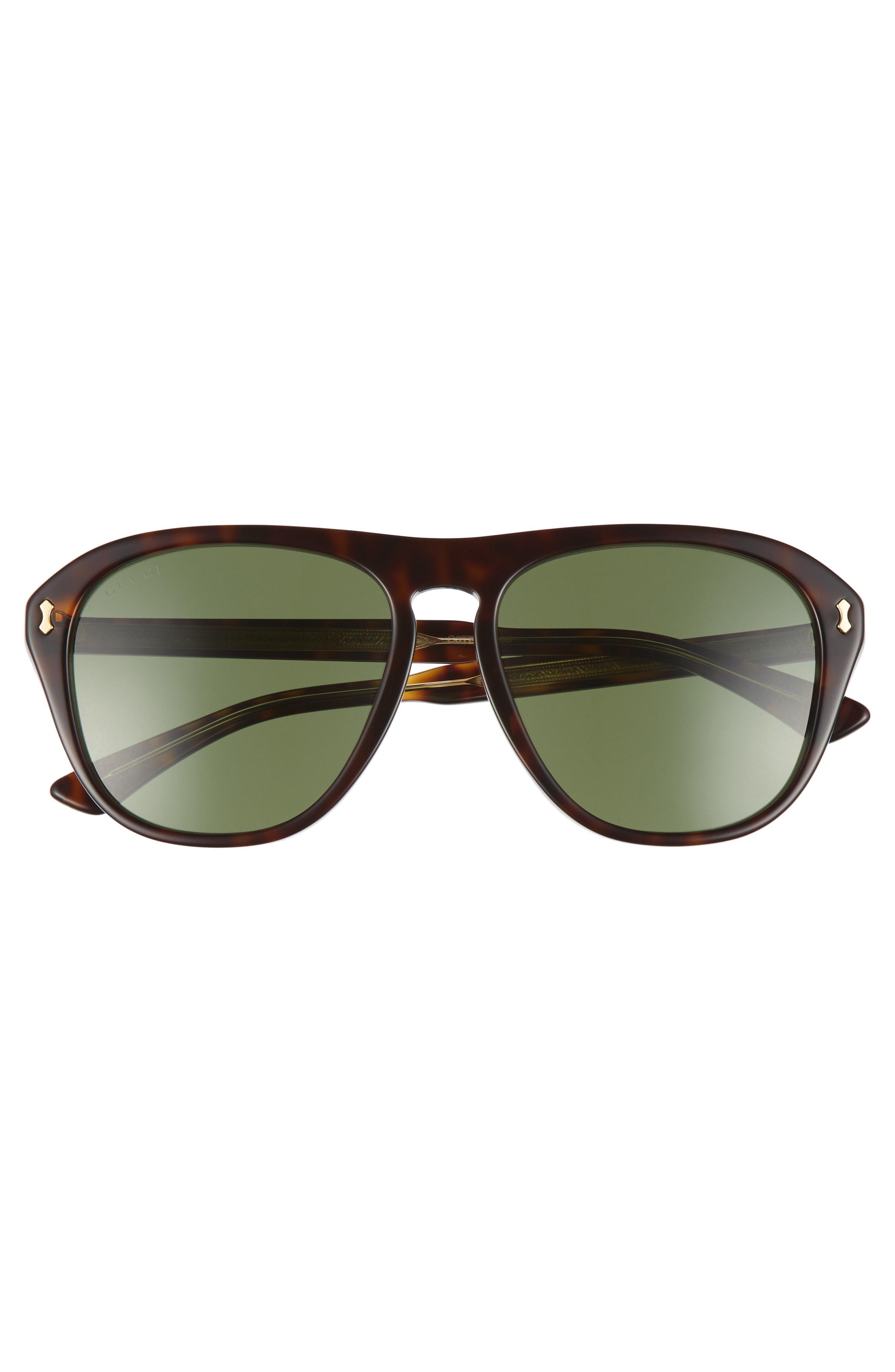 83feb1cbdd Gucci Men s Acetate Aviator Optical Frames W  Sunglasses