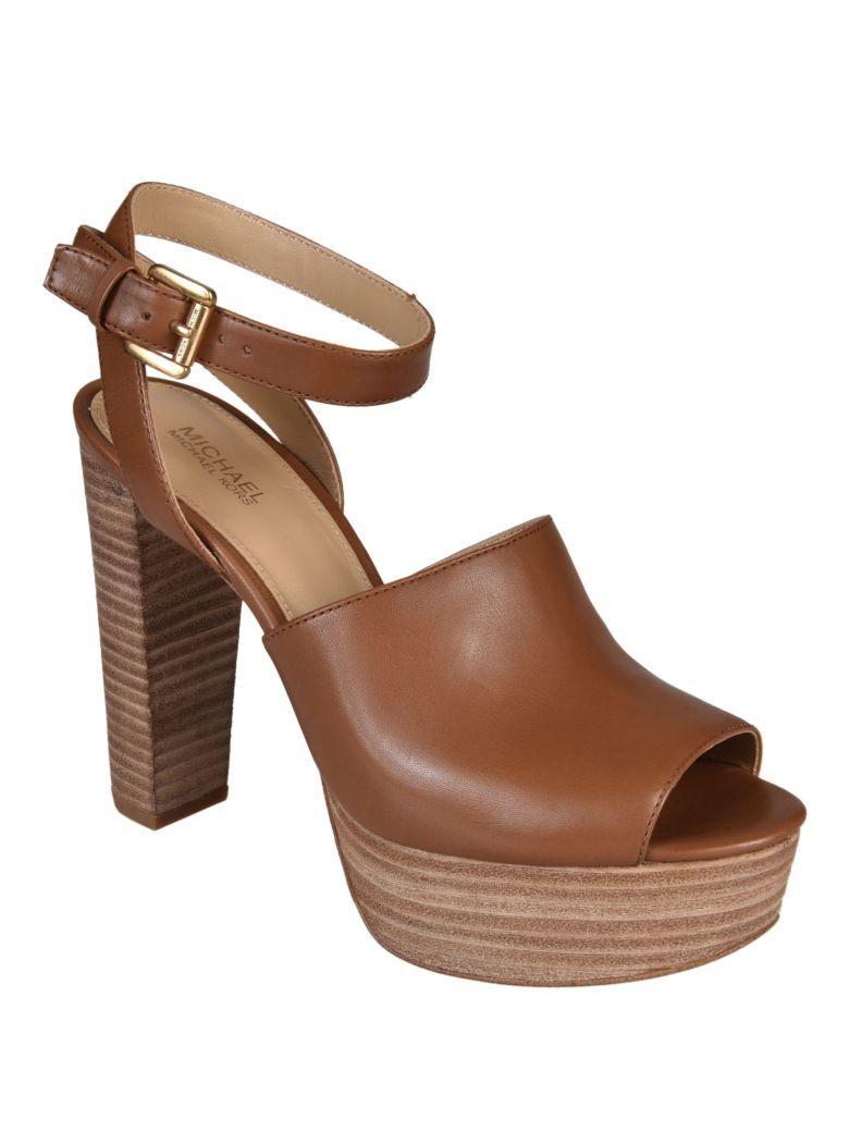 65d9a900b248 Michael Michael Kors Trina Platform Sandals In Luggage