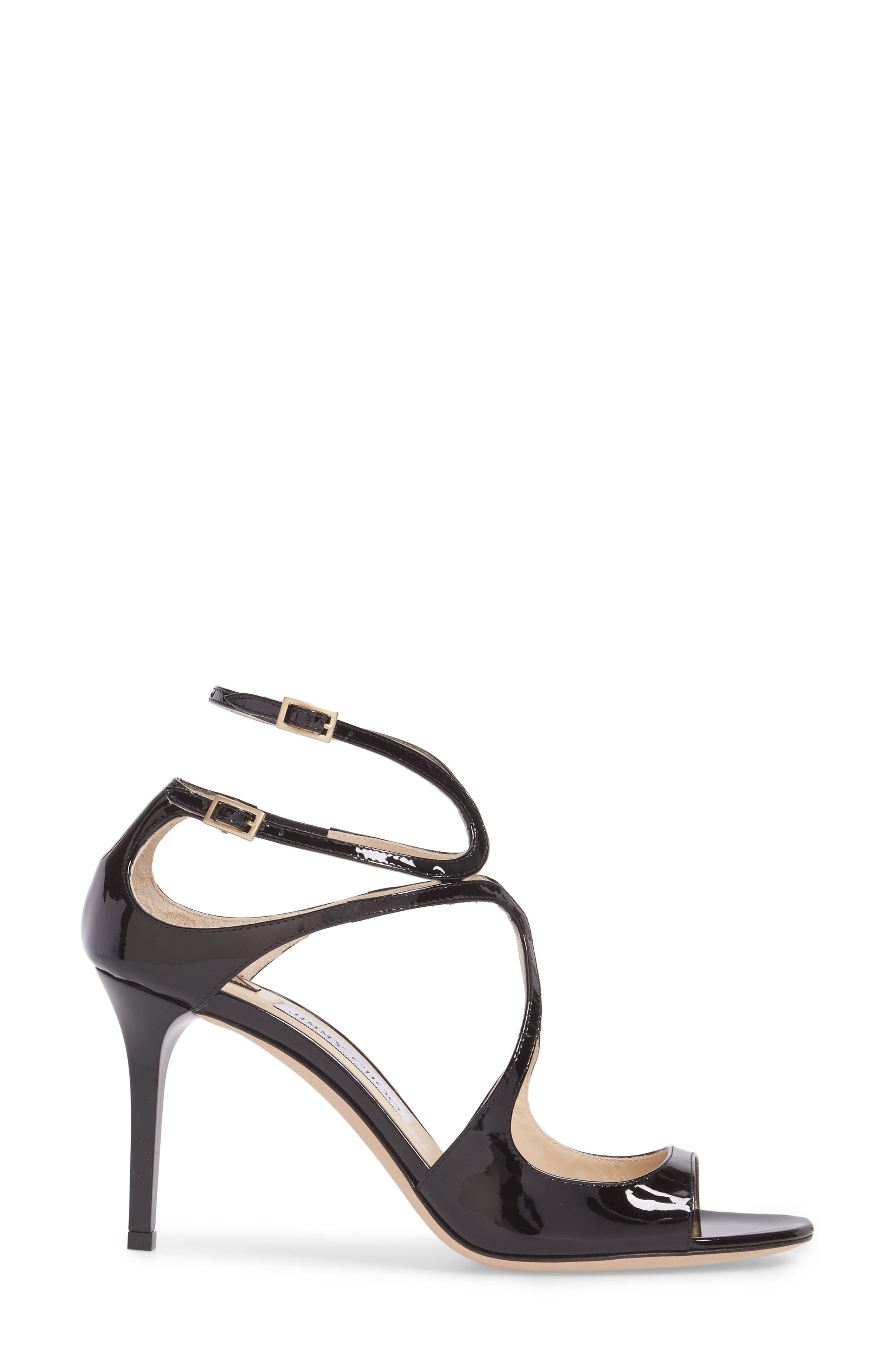 979c3ba497d Jimmy Choo Women s Ivette 85 Patent Leather High-Heel Sandals