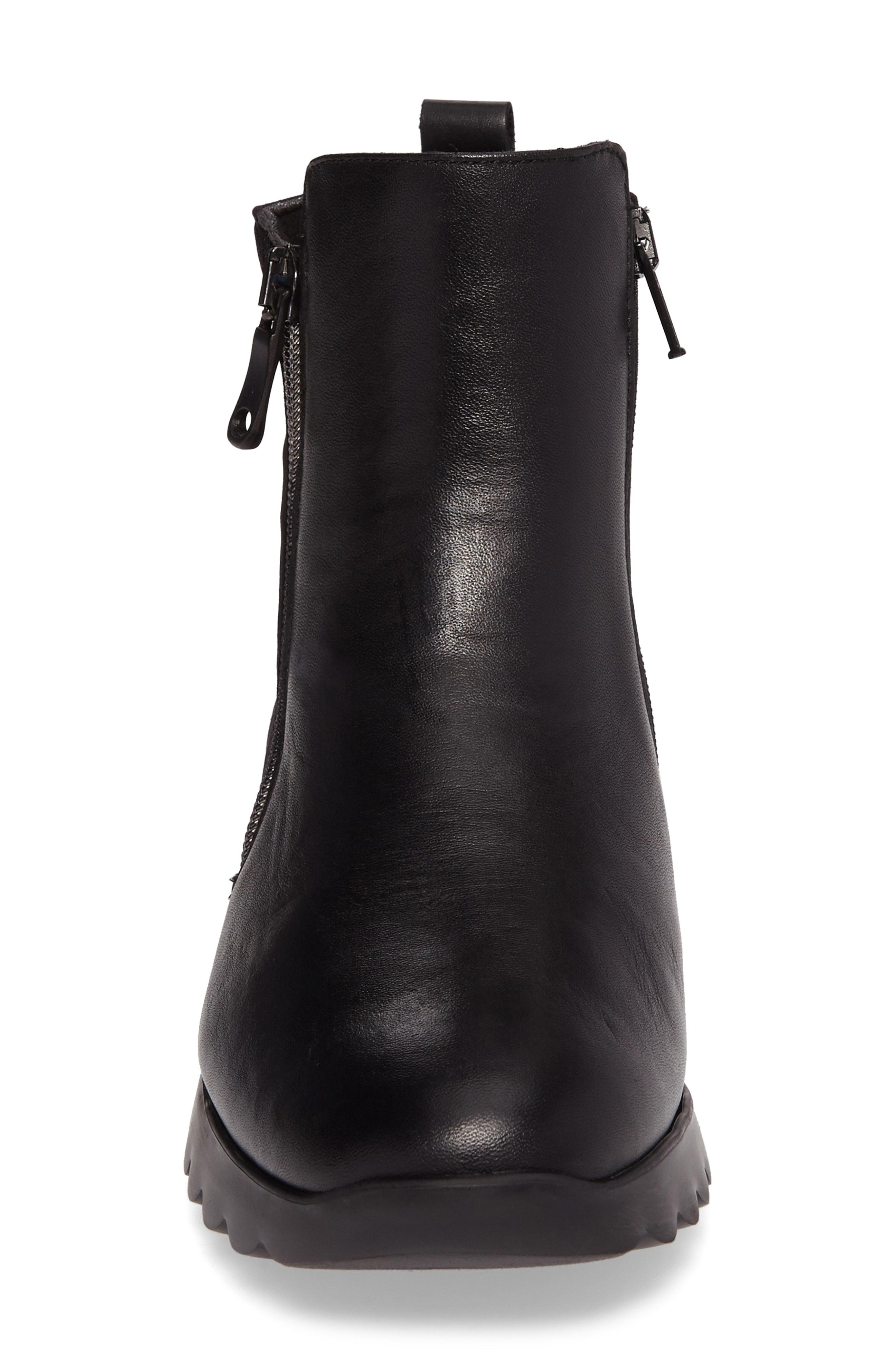 89d710867bb Munro Ashcroft Bootie In Black Leather