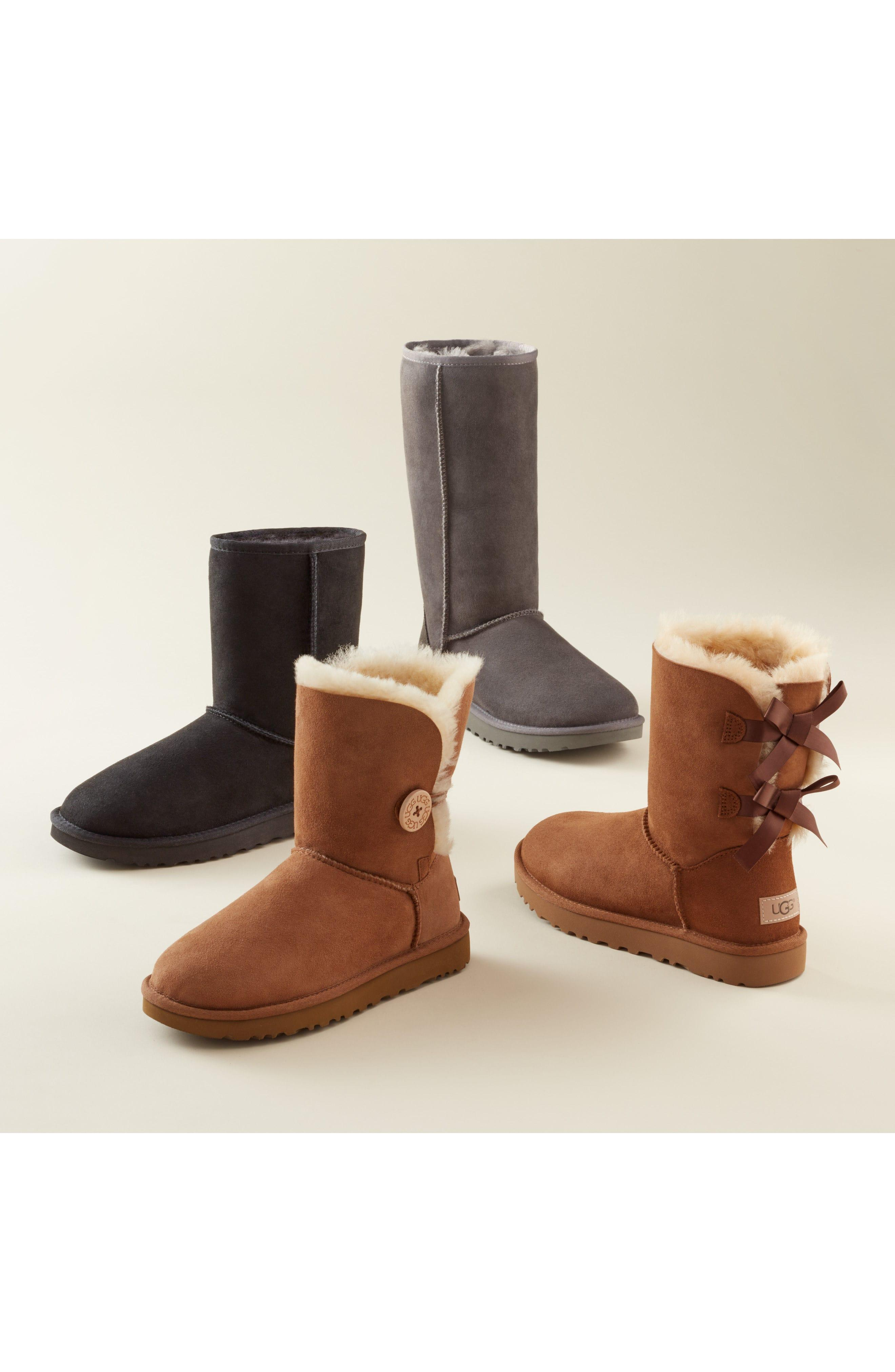 d4207f7a05e 'Classic Ii' Genuine Shearling Lined Tall Boot (Women) in Sand Suede