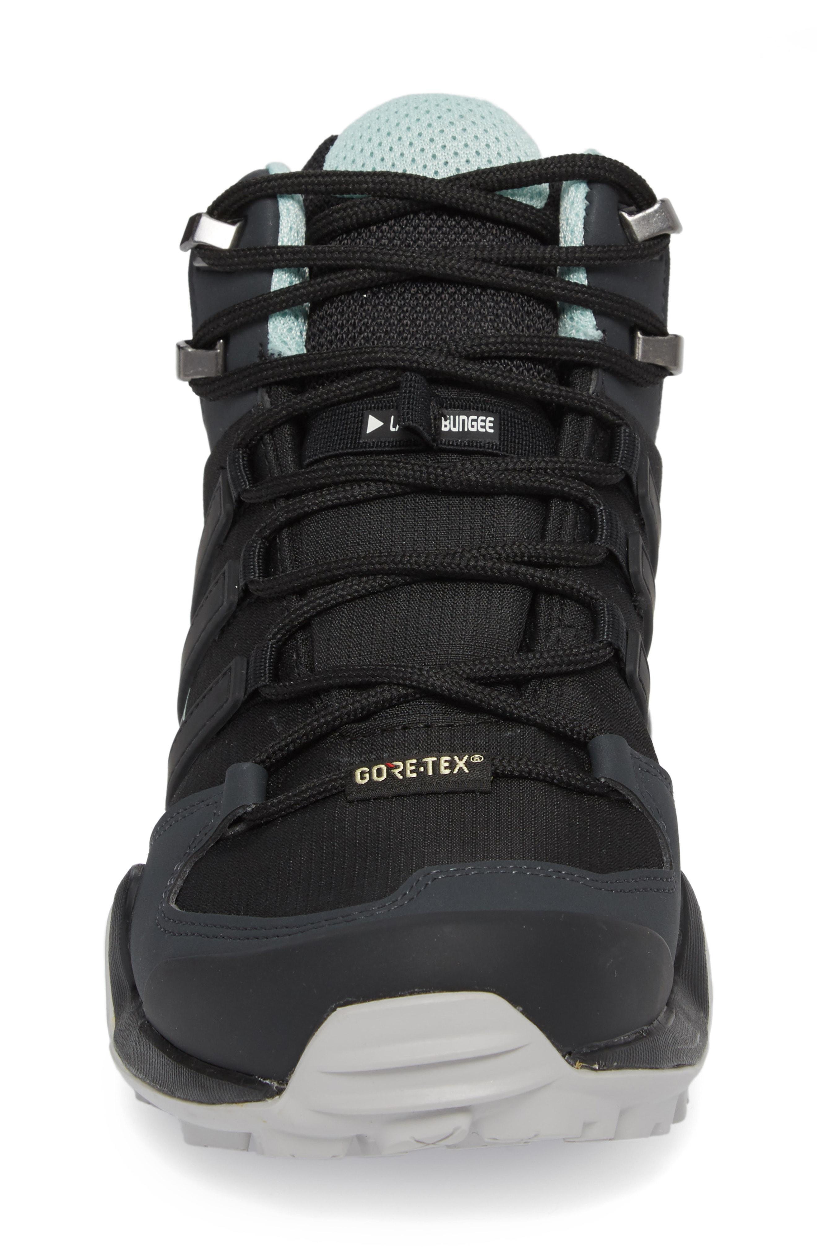 faf3b1db051 Adidas Originals Terrex Swift R2 Mid Gore-Tex Hiking Boot In Black  Black