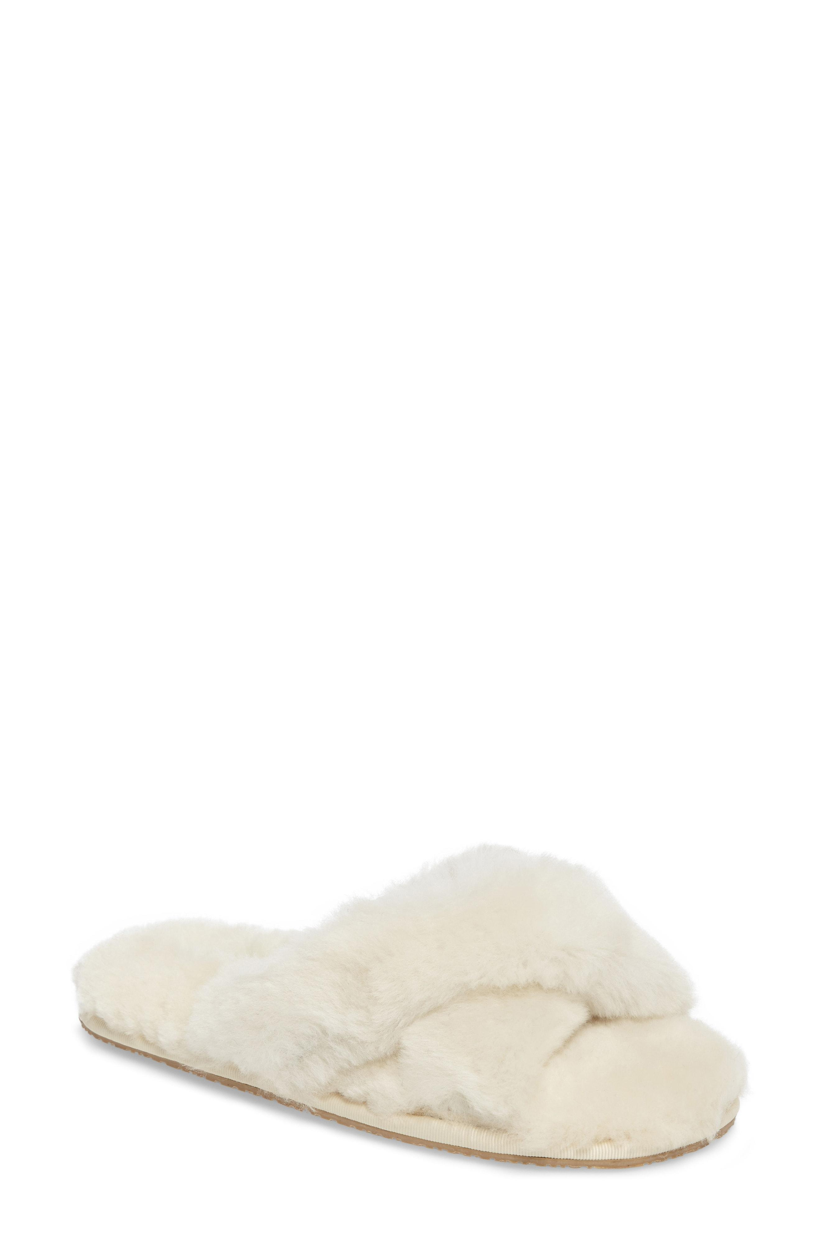 b3ae1a21bbd Patricia Green Mt. Hood Genuine Shearling Slipper In Ivory