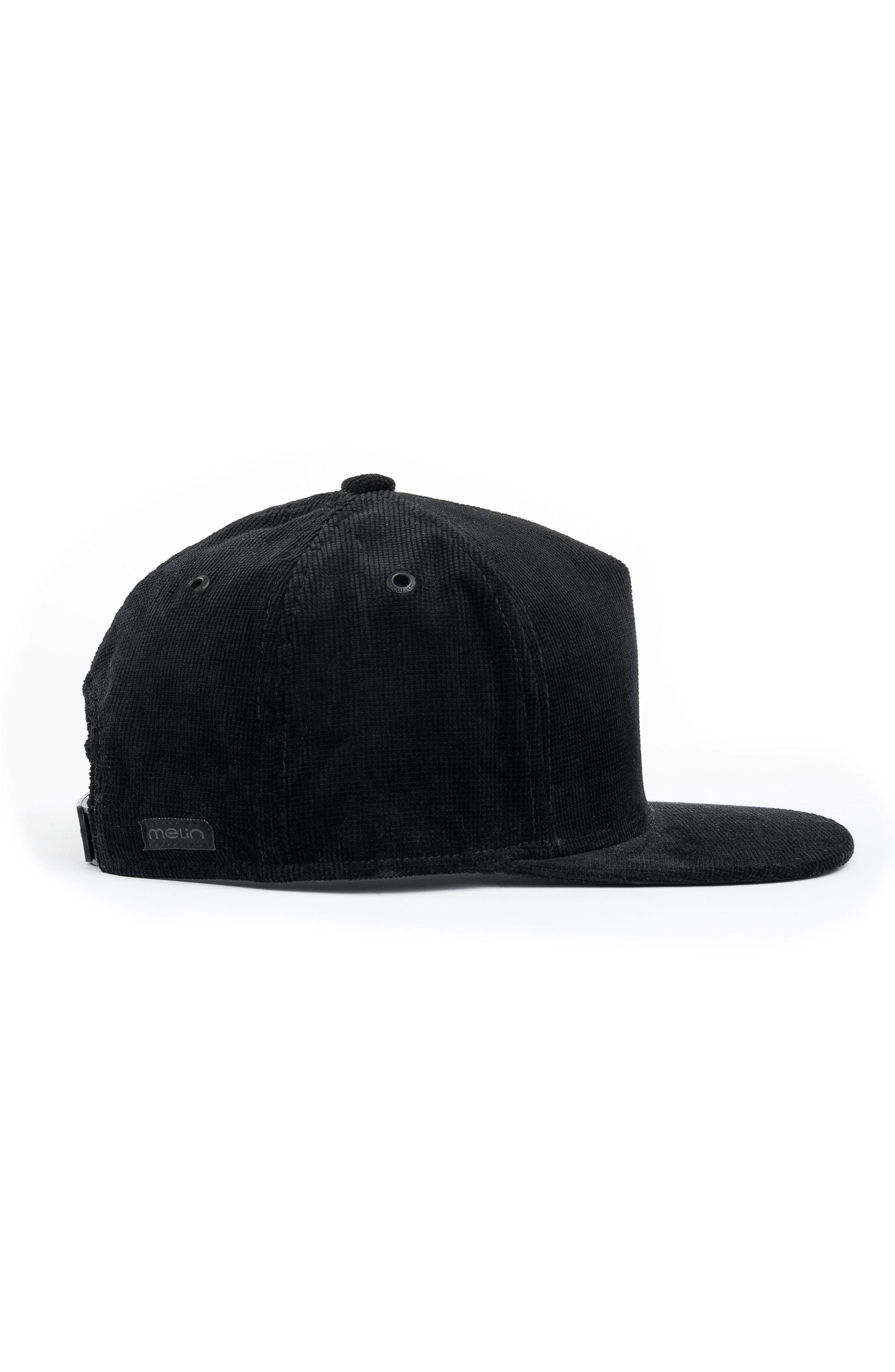 brand new 41942 0d3ac Melin The Stealth Snapback Baseball Cap - Black