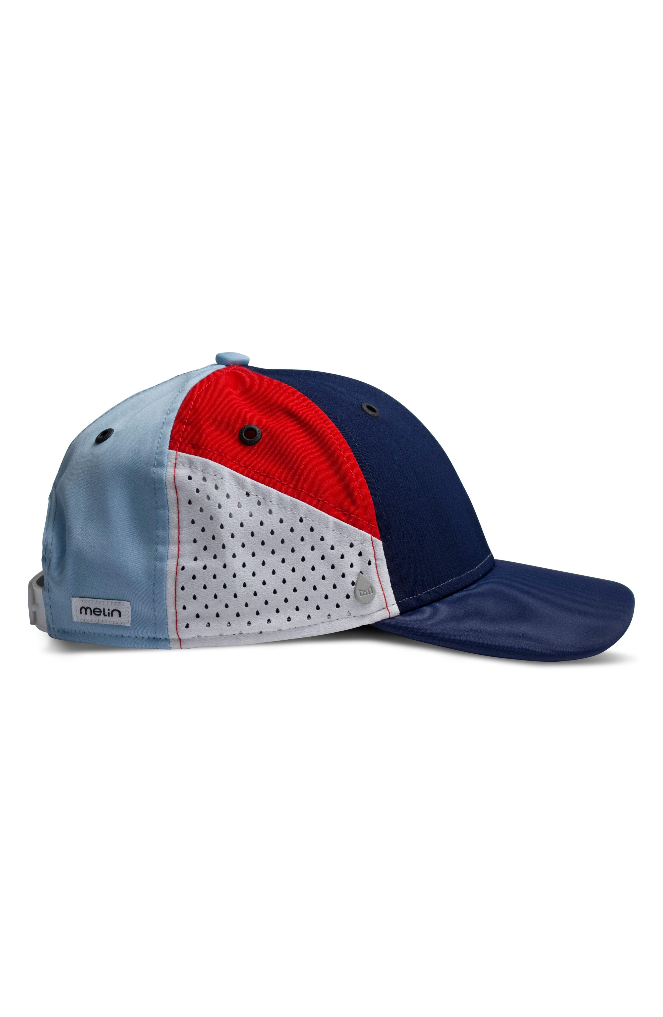 best service 4af4c 41dbf Melin The Assault Snapback Baseball Cap - Red In Red  White