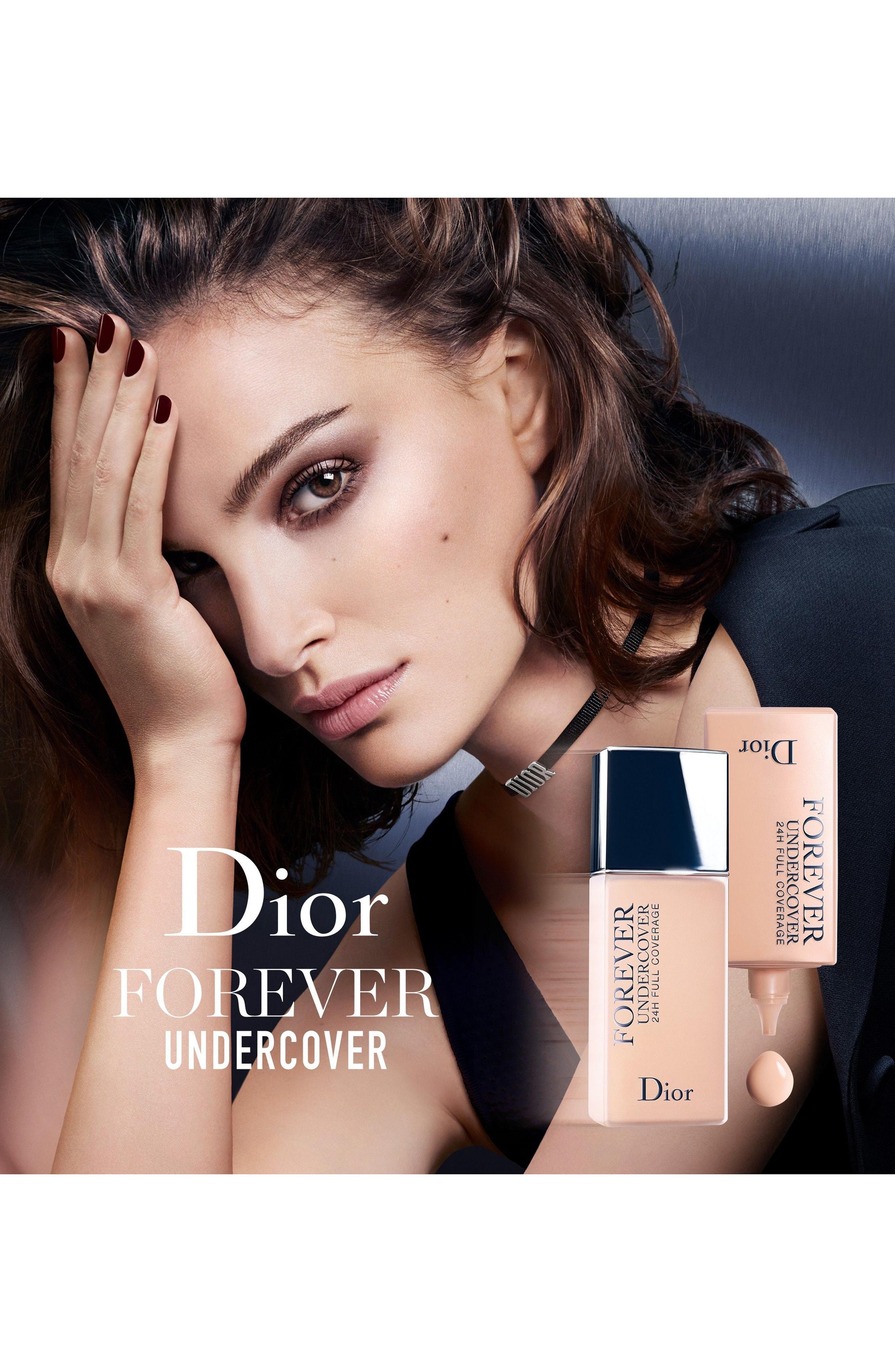 Dior Skin Forever Undercover Foundation 014 Fair Almond 1.3 Oz/ 40 Ml