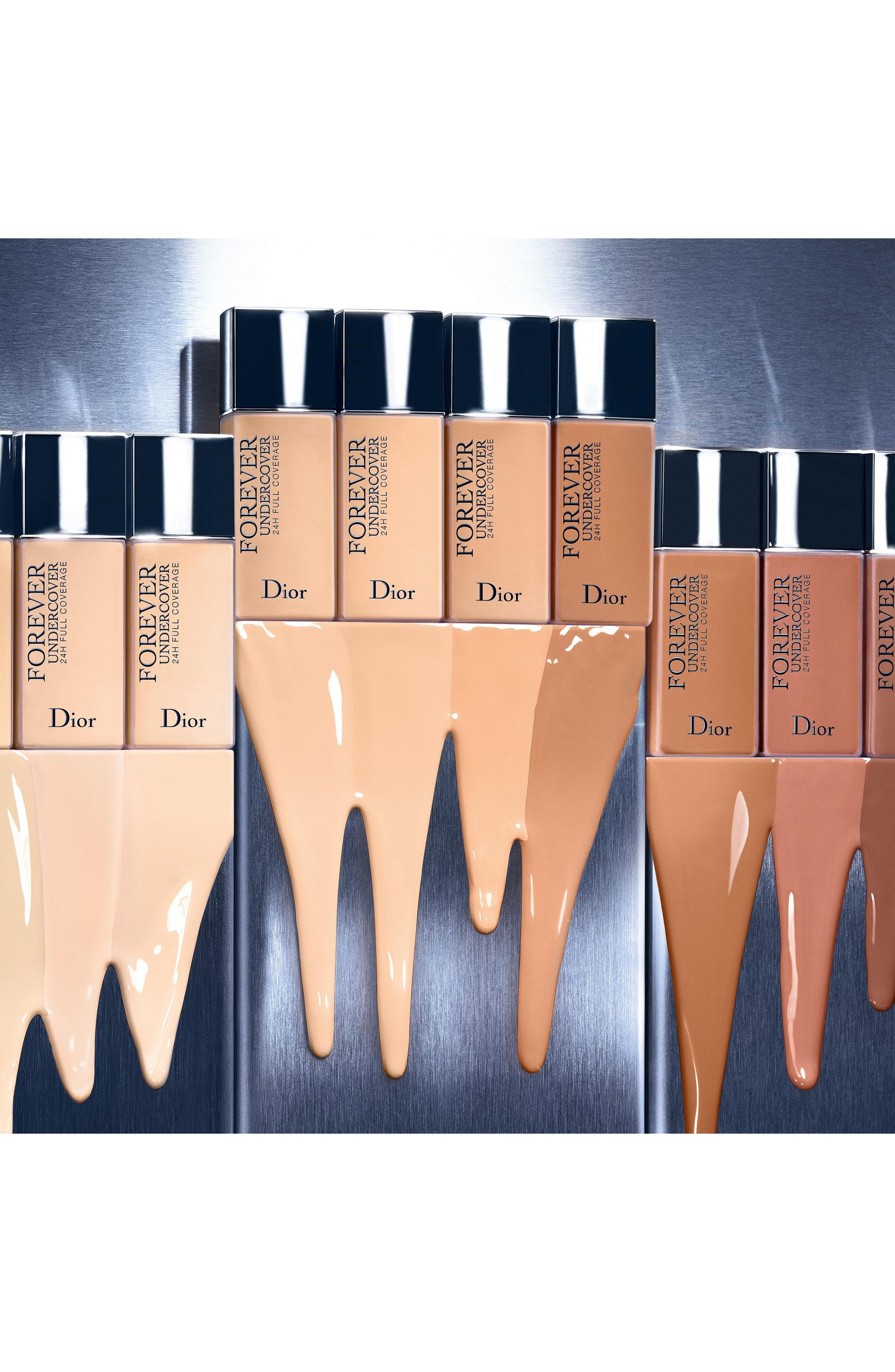 Dior Skin Forever Undercover 24-Hour Full Coverage Liquid Foundation - 010 Ivory