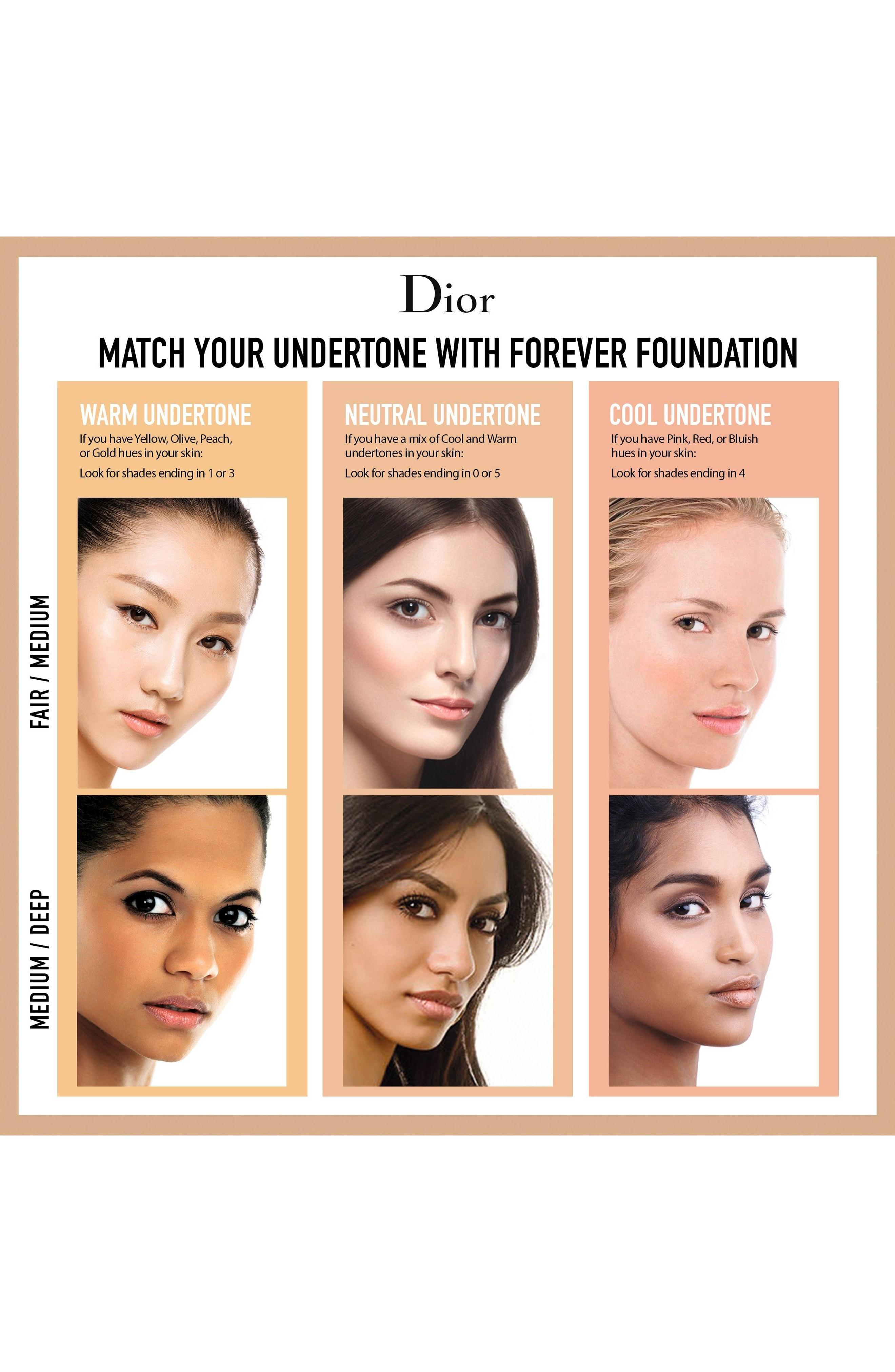 Dior Skin Forever Undercover 24-Hour Full Coverage Liquid Foundation - 022 Cameo