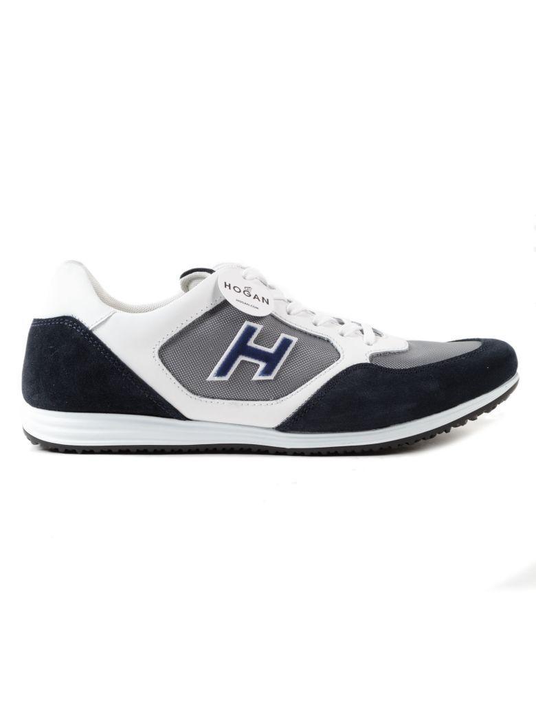 Hogan Olympia X H205 Sneakers In Smoke Grey-night Blue | ModeSens