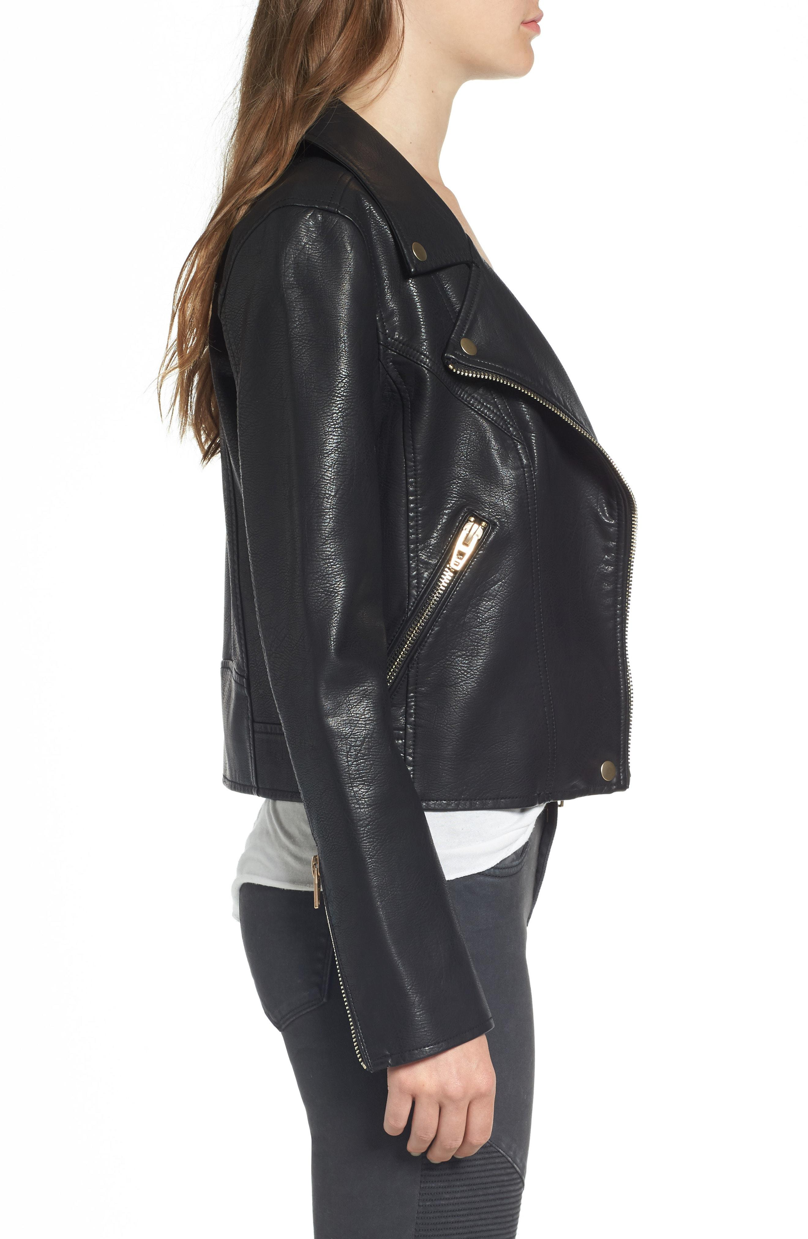 326032bba Life Changer Moto Jacket in Black