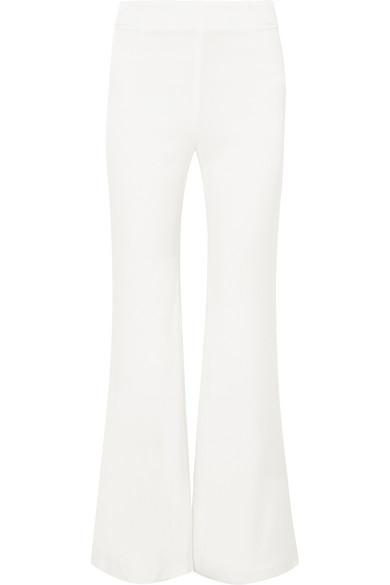 Galvan Jersey Flared WhiteModesens In Trousers rEoWQdCxBe