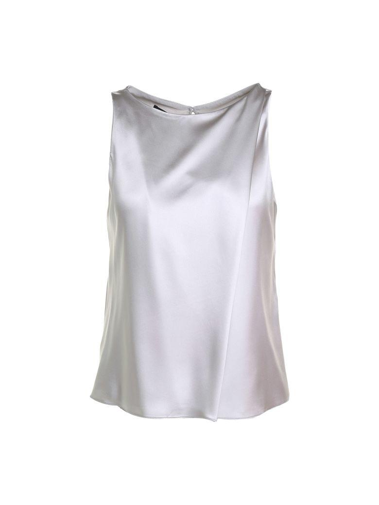 87099026561d Giorgio Armani Silk-Satin Sleeveless Top In Unico